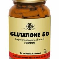 GLUTATIONE 50 - 30 VEGICAPS - SOLGAR