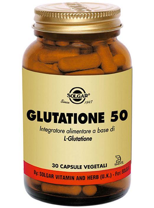 GLUTATIONE 50 - 30 VEGICAPS - SOLGAR