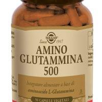 AMINO - GLUTAMMINA 500 50 VEGICAPS - SOLGAR