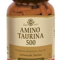 AMINO - TAURINA 500 50 VEGICAPS - SOLGAR