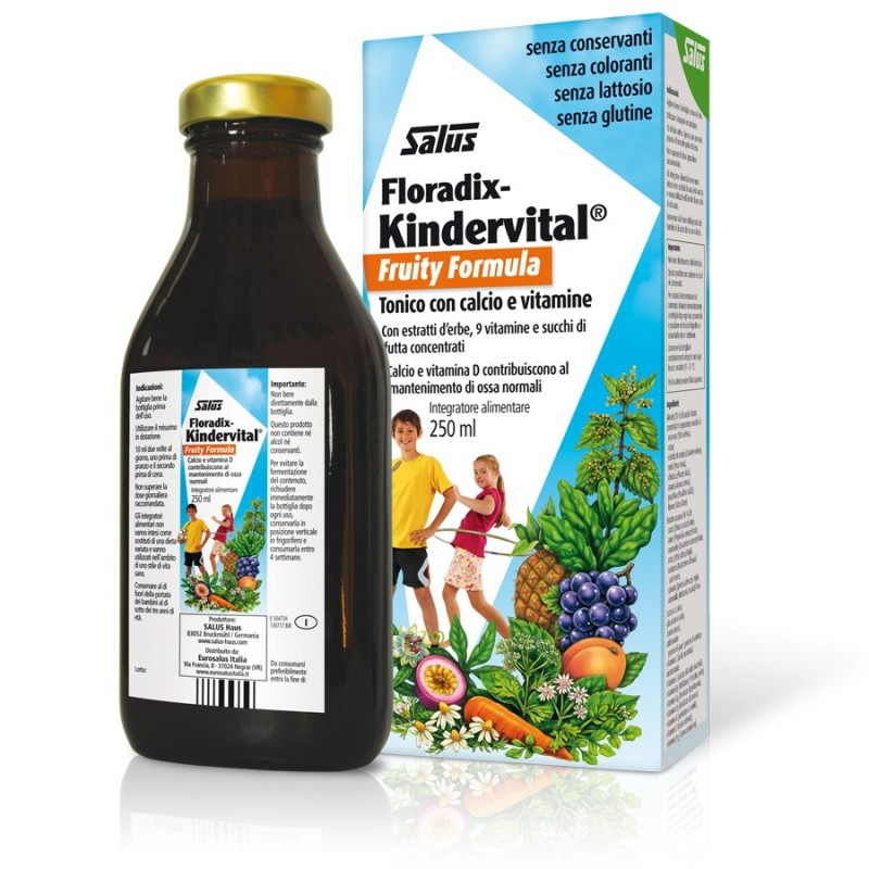 KINDERVITAL FRUITY PER RAGAZZI ML 250