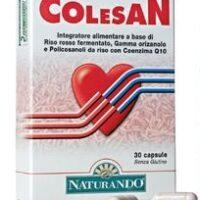 Colesan 30 capsule Riso Rosso con 10mg Monacolina K
