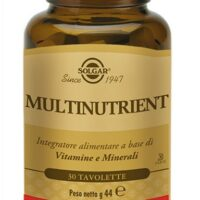 MULTINUTRIENT 30 TAVOLETTE - SOLGAR