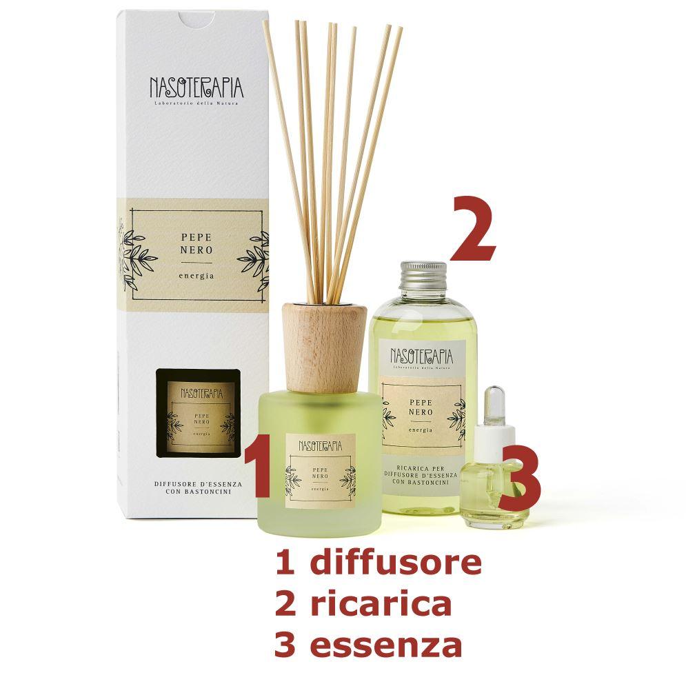 Essenza aromatica Pepe Nero 15ml Nasoterapia