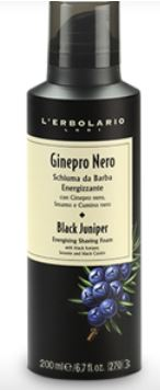 Ginepro Nero Schiuma Da Barba Energizzante 200ml
