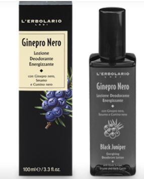 Ginepro Nero Lozione Deodorante Energizzante 100ml