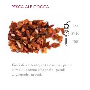 INFUSO DI FRUTTA 1 HG PESCA ALBICOCCA    - 100 gr.