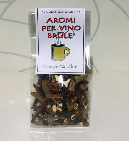 Spezie per vino brule' dose per 1,5-2 litri