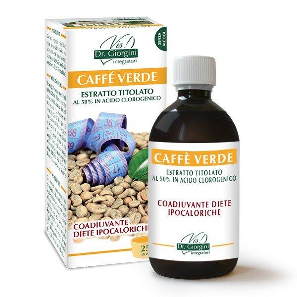 CAFFE' VERDE ESTRATTO TITOLATO 500 ML