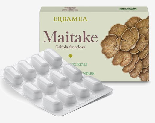 MAITAKE - GRIFOLIA FRONDOSA  24 CAPSULE VEGETALI