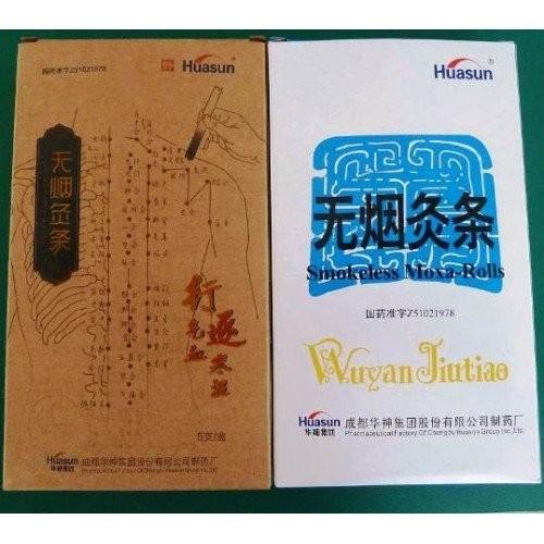 Moxa senza fumo Wuytan Jiutiao conf. 5 sigari