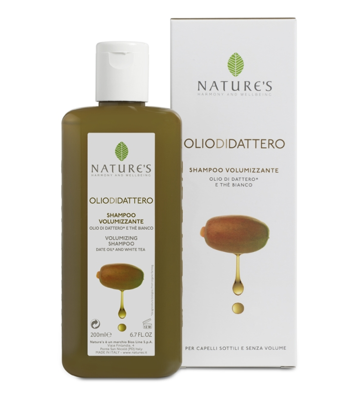 Olio di Dattero Shampoo Volumizzante 200ml