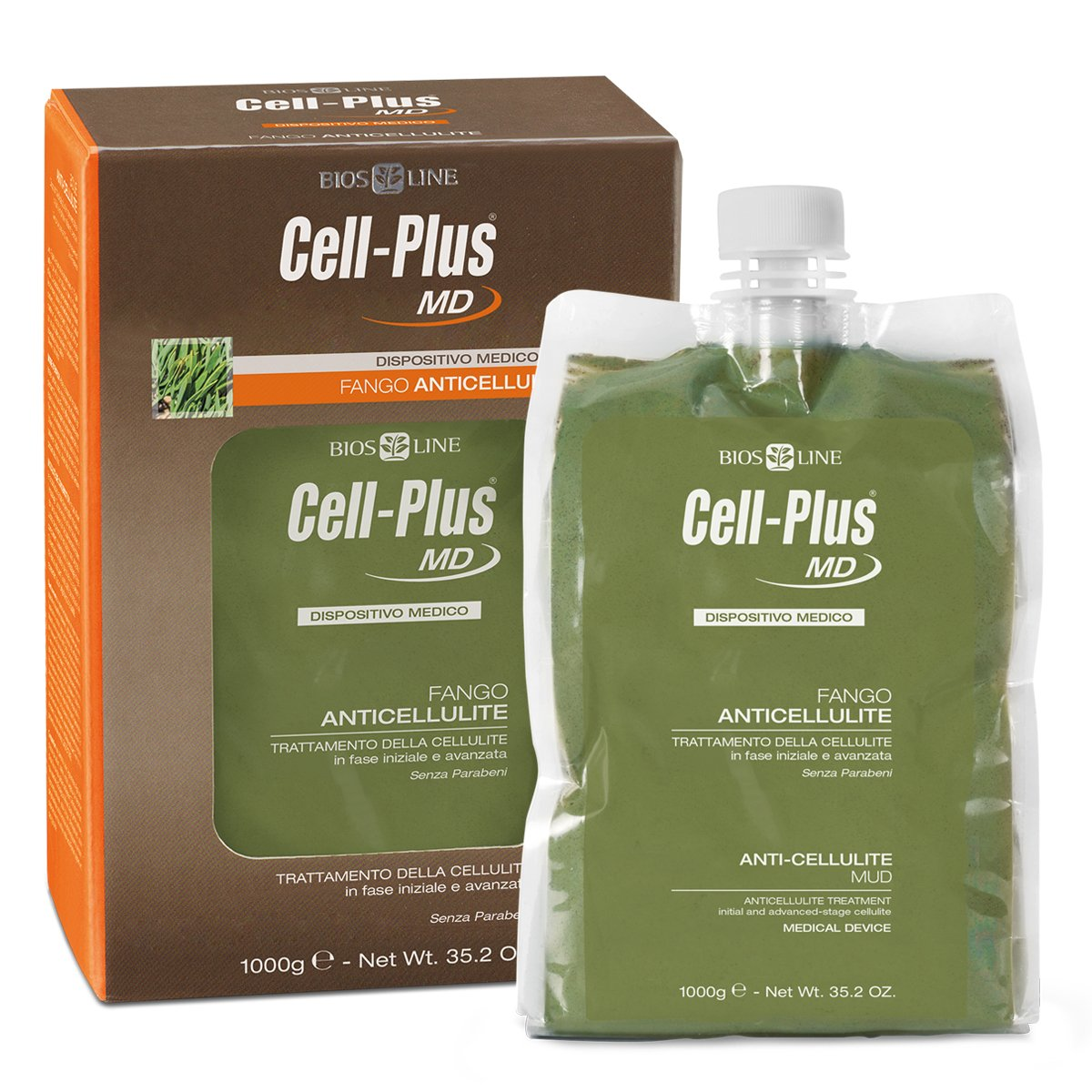 CELL-PLUS MD FANGO ANTICELLULITE 1 KG