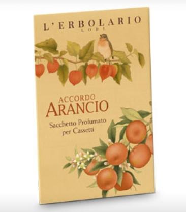 Accordo Arancio 1 Sacchetto Per Cassetti