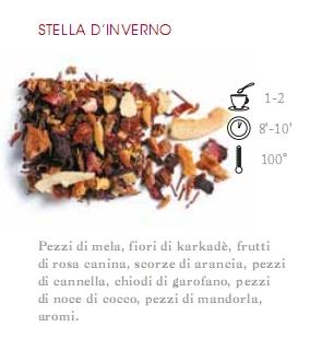 INFUSO DI FRUTTA 1 HG STELLA D' INVERNO  - 100 gr.
