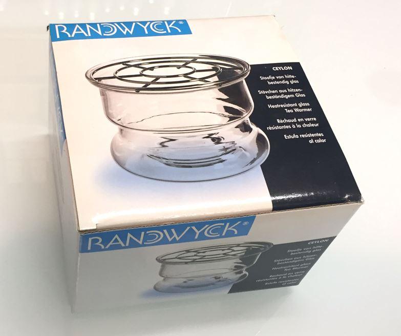 Scaldavivande in vetro per teiere- Tea warmer Ceylon di Randwick