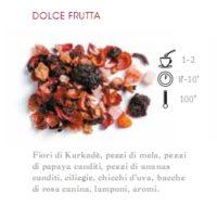 INFUSO DI FRUTTA 1 HG ROSA CANINA E LAMPONE - 100 gr.