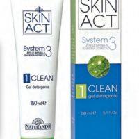 SKIN ACT1 CLEAN DETERGENTE 150ML NATURANDO