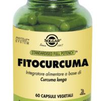 FITO CURCUMA 60 VEGICAPS - CURCUMA LONGA - SOLGAR