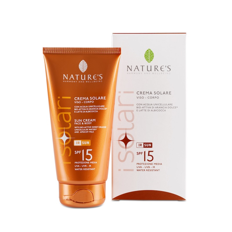 CREMA SOLARE SPF15 150ML NATURE'S
