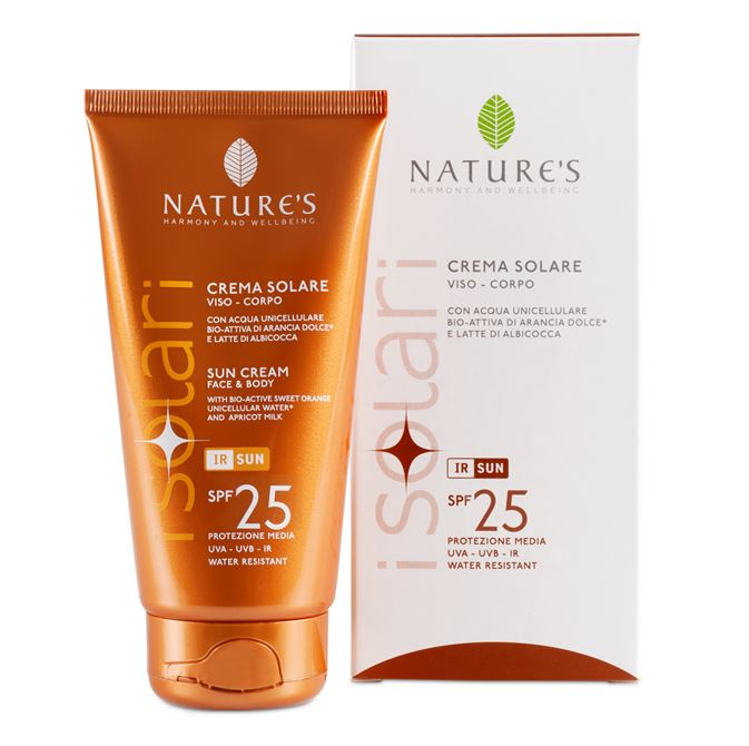 CREMA SOLARE SPF25 150ML NATURE'S