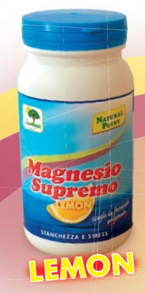 MAGNESIO SUPREMO GR 150 - POLVERE GUSTO LIMONE