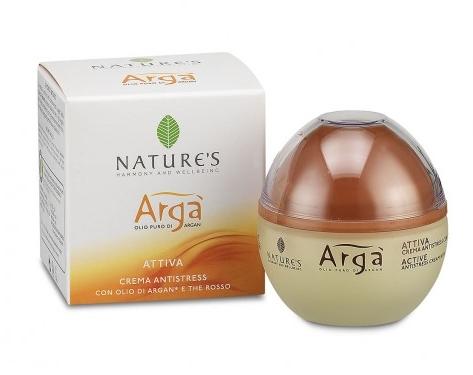 Arga' Crema Attiva Antistress 50ml con olio di Argan