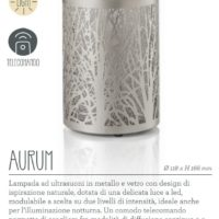 Lampada diffusore ad ultrasuoni Aurum