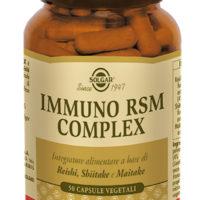 IMMUNO RSM COMPLEX 50 VEGICAPS - REISHI SHIITAKE MAITAKE -SOLGAR