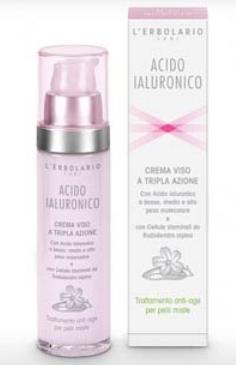Acido Ialuronico Crema Pelli Miste 50ml Tripla Azione