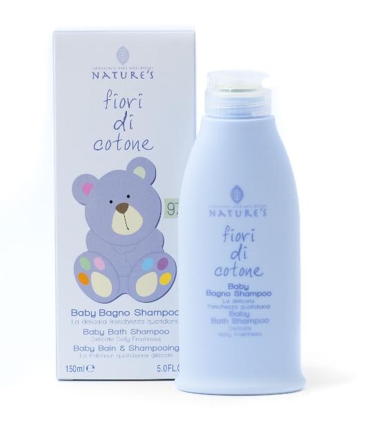 FIORI DI COTONE - Baby Bagno Shampoo 150ml