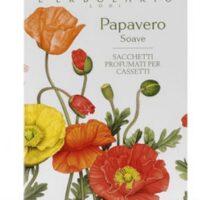 PAPAVERO SOAVE 1 SACCHETTO PER I CASSETTI