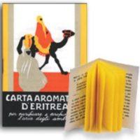 CARTA AROMATICA D' ERITREA 60 LISTELLI