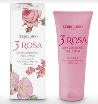 Linea 3 Rosa - Crema Nutriente per le Mani