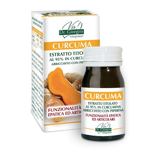 Estratto Titolato Curcuma + Piperina 60 Pastiglie