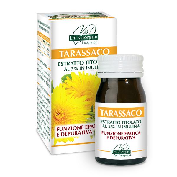 ESTRATTO TITOLATO TARASSACO 60 PASTIGLIE
