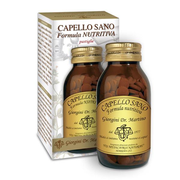 CAPELLO SANO FORMULA NUTRITIVA 90GR PASTIGLIE