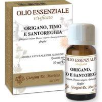 ORIGANO-TIMO-SANTOREGGIA 10 ML OLIO ESSENZIALE VIVIFICATO