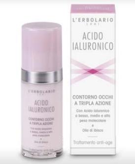 Acido Ialuronico Crema Contorno Occhi Tripla Azione 15ml