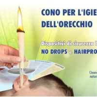 CLEANER 2 CONI PULIZIA DELL' ORECCHIO