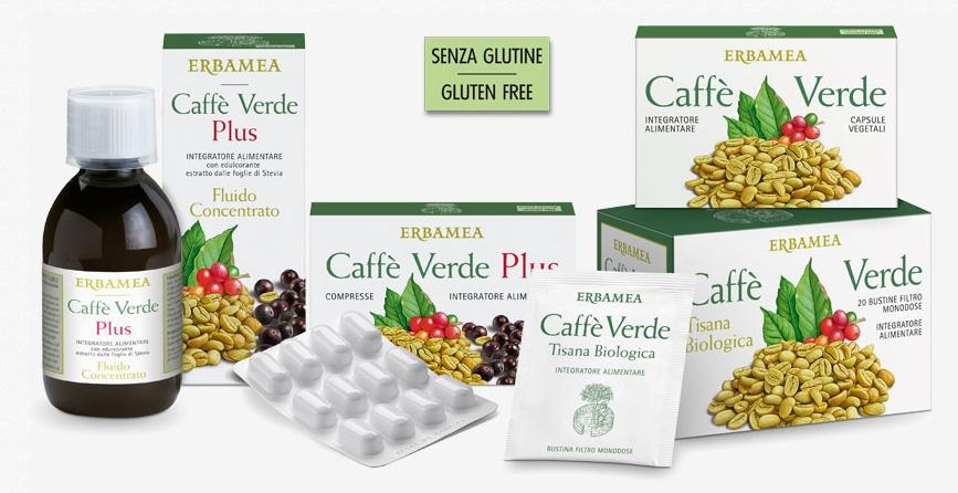 CAFFE' VERDE TISANA BIOLOGICA 20 FILTRI - ERBAMEA