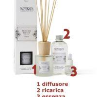 Essenza aromatica Muschio Bianco 15ml Nasoterapia