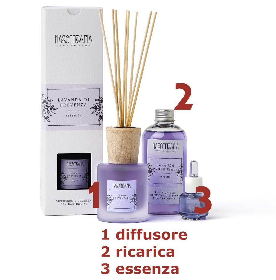 Essenza aromatica Lavanda Provenzale 15ml Nasoterapia