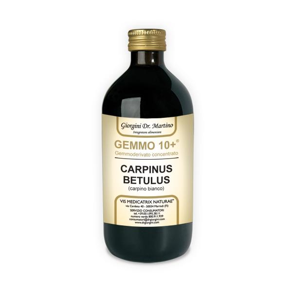 GEMMO 10+ CARPINO BIANCO 500ML ANALCOLIC