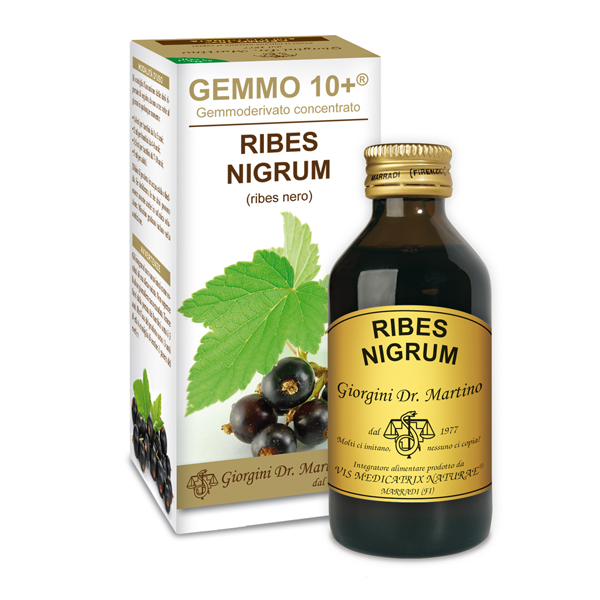 GEMMO 10+ RIBES NERO 100 ML ANALCOLICO
