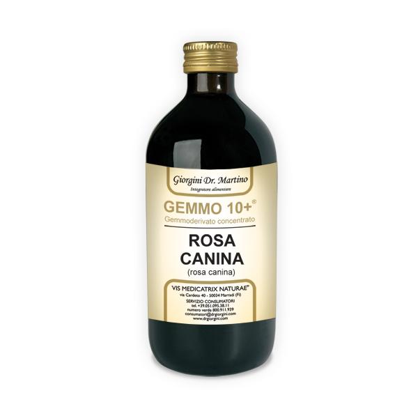 GEMMO 10+ ROSA CANINA 500 ML ANALCOLICO