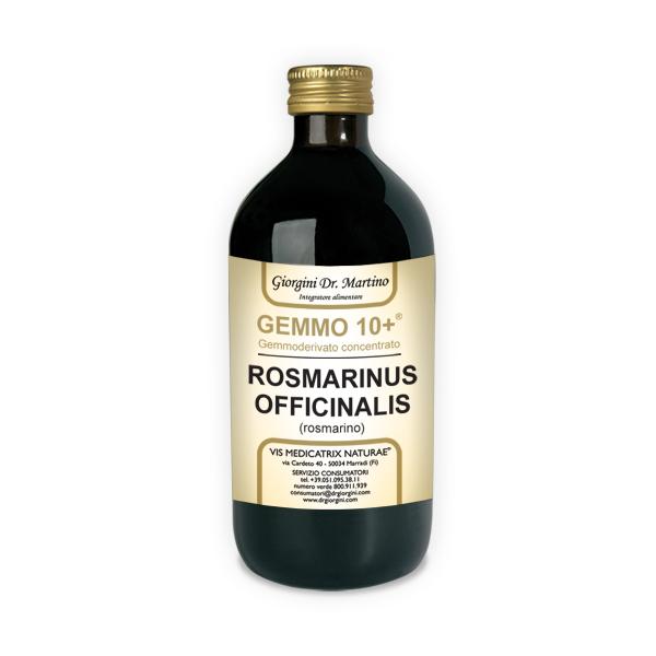 GEMMO 10+ ROSMARINO 500 ML ANALCOLICO