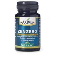 Zenzero Massima Concentrazione 40 capsule Maximum