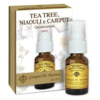 Tea Tree Niaouly e Cajeput Quintessenza 15ml Spray