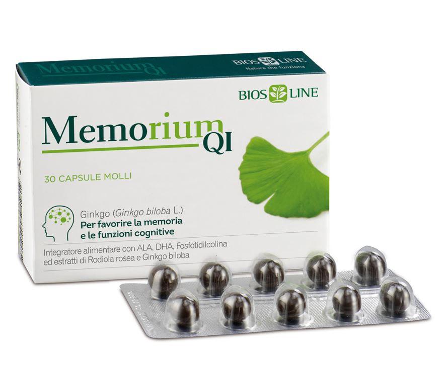 Memorium QI 30 capsule - Memoria e funzione cognitiva